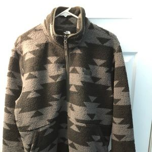 TNF Men's Dunraven Novelty SherpaZip Fleece Jacket